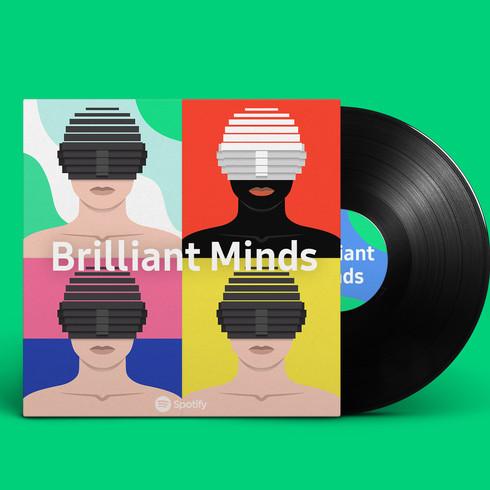 "Spotify ""Brilliant Minds"""