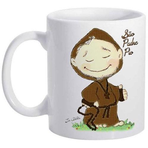 Caneca São Padre Pio