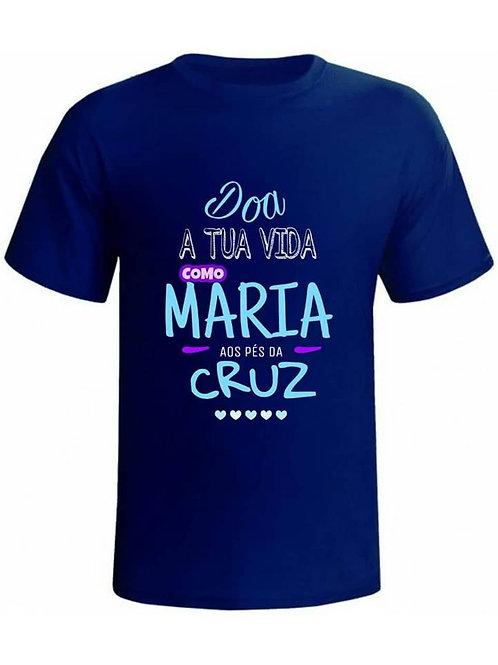 Camiseta Doa tua vida como Maria