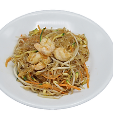 30 Spaghetti di soia con gamberi