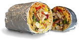 Salsa Fresca Burrito
