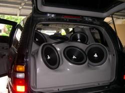 JVC Custom Speaker set up