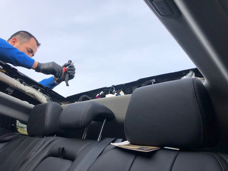 sunroof replacement