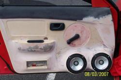 Custom fiberglass Door Speaker