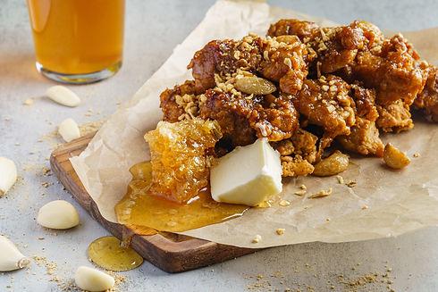 Left Wing Honey Garlic Chicken