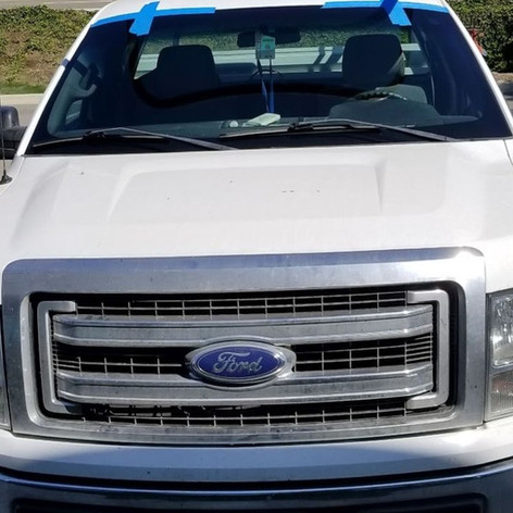 Ford Truck Windshield Installation