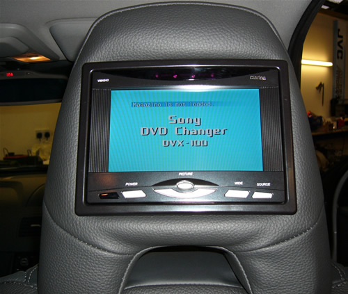 "Headrest DVD player dual 9""Monitor"