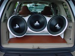 "JL Audio 12"" Custom Speaker Install"