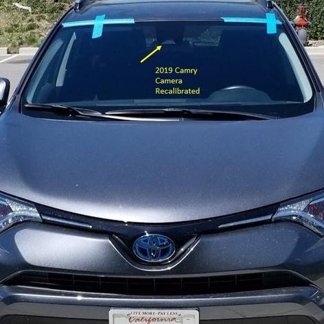 Toyota Windshield Installation & Calibration