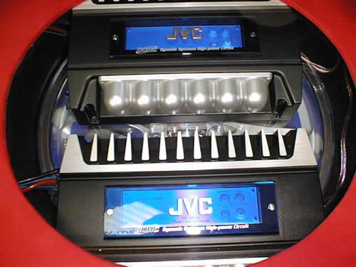 JVC Custom Speaker & AMP