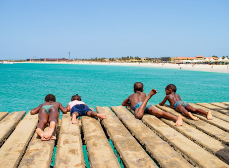 Choose living life & save an Island all in one go. Sal, Cabo Verde