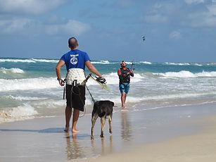 rod and kiter at kite beach.jpg