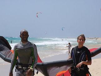 Lessons Kite Beach
