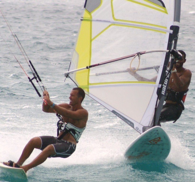 Kitesurfing and Windsurfing school Sal, Cabo Verde-Surf Zone