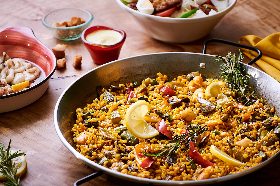 Quiero Paella Spanish Food Delivery Duba