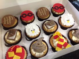 Cupcakes Harry Potter Vanille-Cerise-Amande