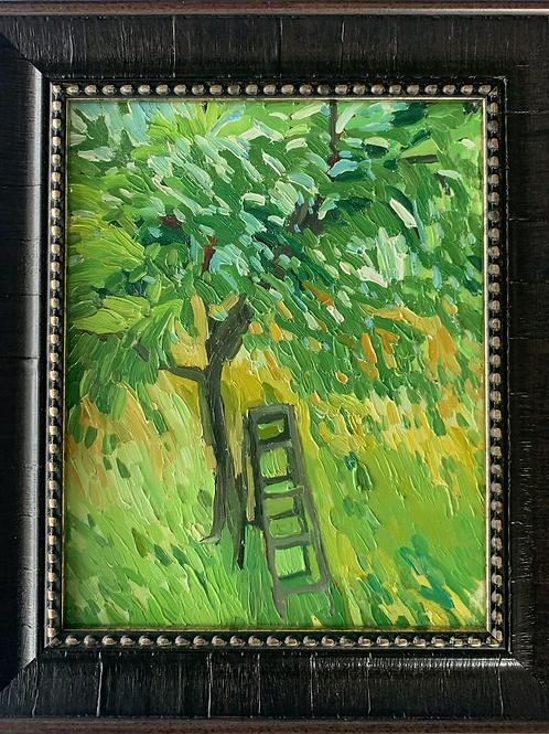 Orchard Work 10 x 8