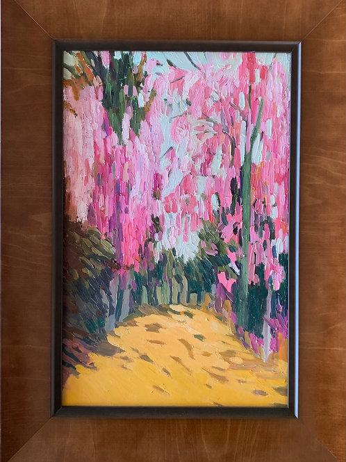 Pink Olives 17 x 11