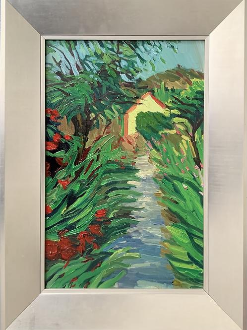 Giverny Path 17 x 11