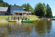 canoes et restaurant de Séchemailles