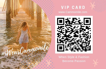 Join Cammomile Member Card - Click here