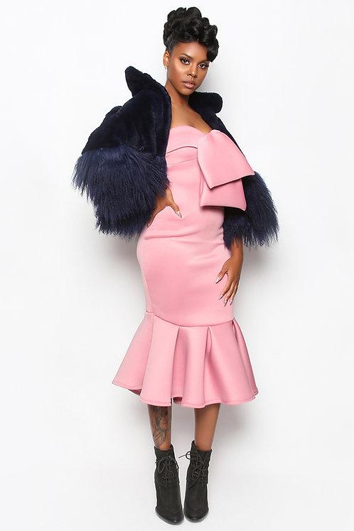The AngelDeon Mauve Pink Dress