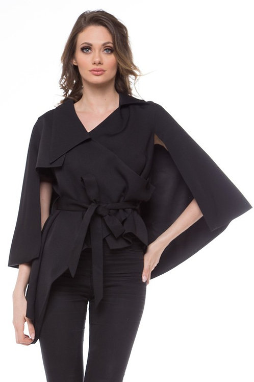 The LoLo Cape Top Black