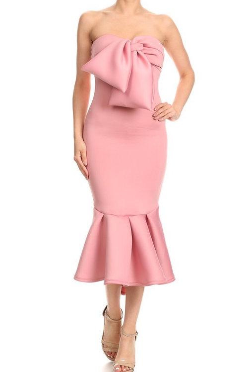 The AngelDeon Dress Mauve Pink