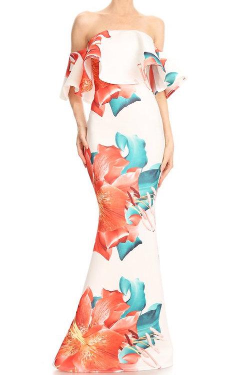 The Punta Cana Mermaid Maxi Dress
