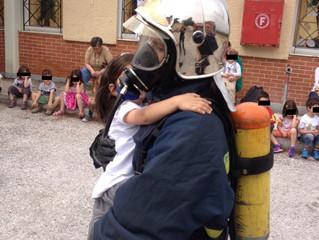Το Εθελοντικό Πυροσβεστικό Κλιμάκιο Πεντέλης επισκέφθηκε τον 1ο Βρεφονηπιακό Σταθμό Πεντέλης.