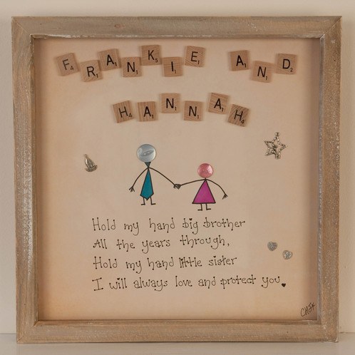 Fancy Brother And Sister Photo Frames Picture Collection - Picture ...
