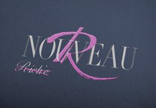 Nouveau Riche Logo design