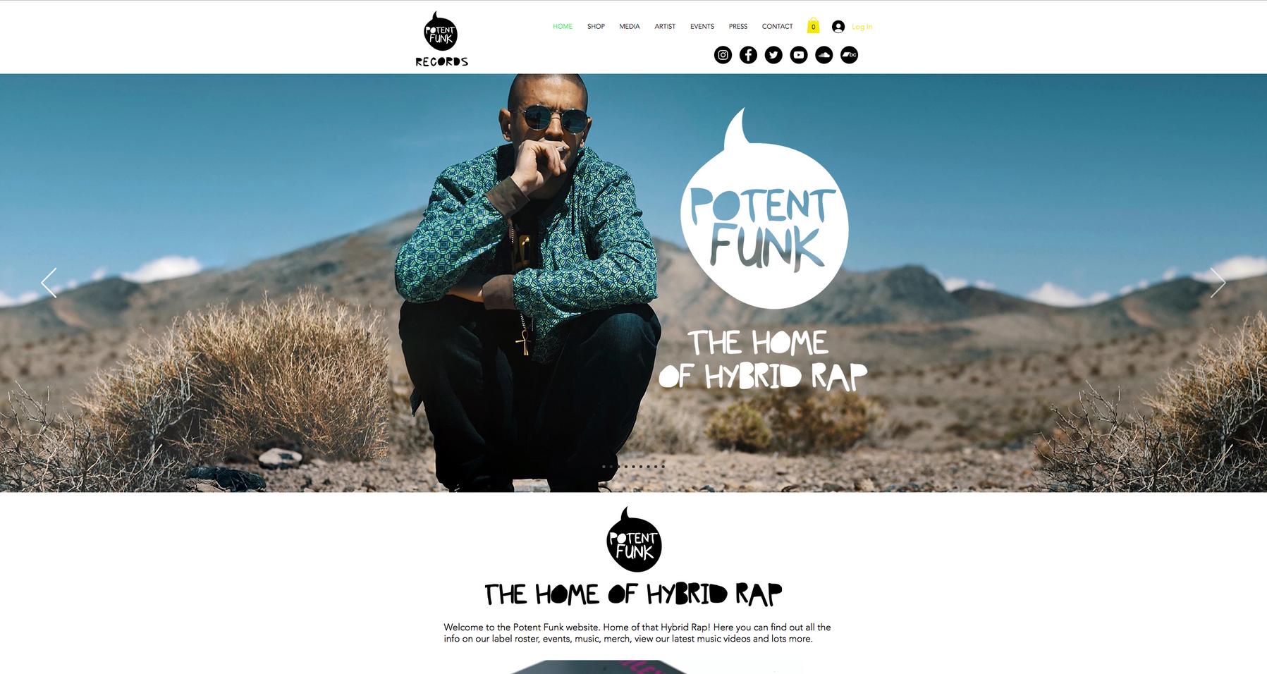 Potent Funk Records