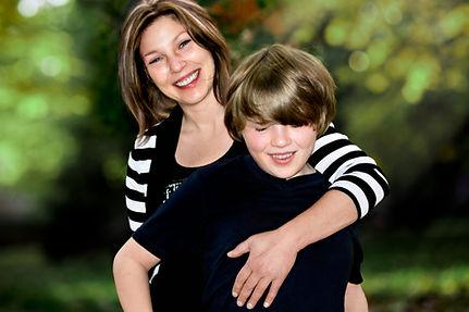 Tammy Swarek with son, Matthew
