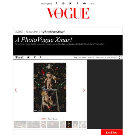 Vogue Christmas - Tammy Swarek