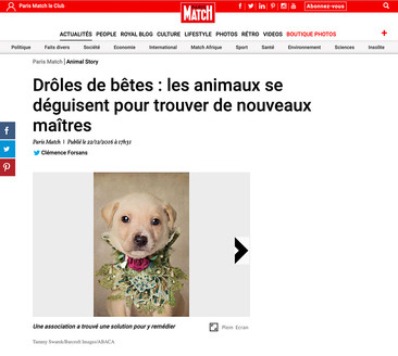 Paris Match - Tammy Swarek