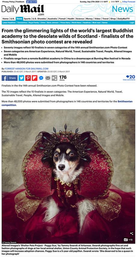 Daily Mail - Tammy Swarek