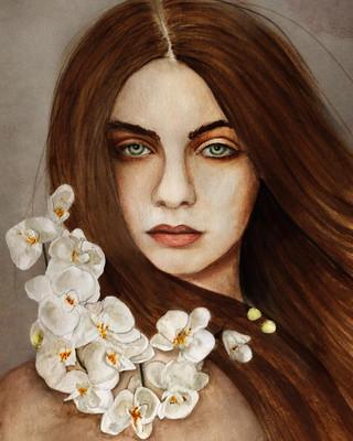 Orchid by Tammy Swarek