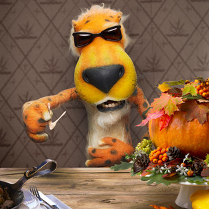 My only wish is that I leave myself enough room for Cheetos. #Thanksgiving