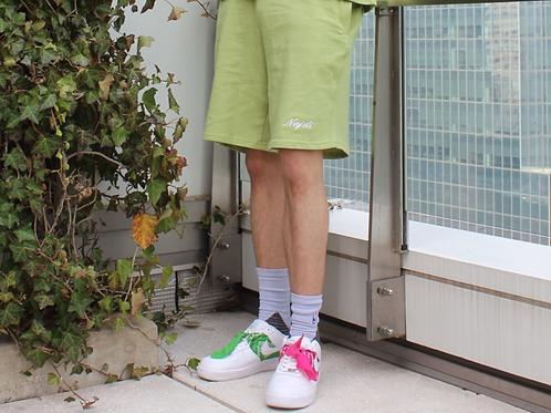 Najdi Script Shorts (Green)