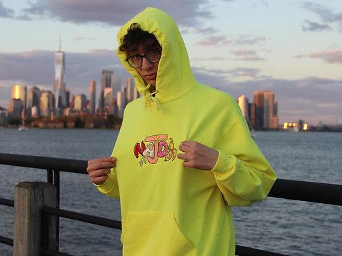 Najdi x BrownBagBreakfast Hoodie (Yellow)