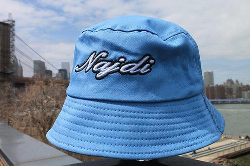 Najdi Script Bucket Hat (Blue)