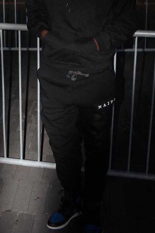 Najdi Fleece Joggers (Black)