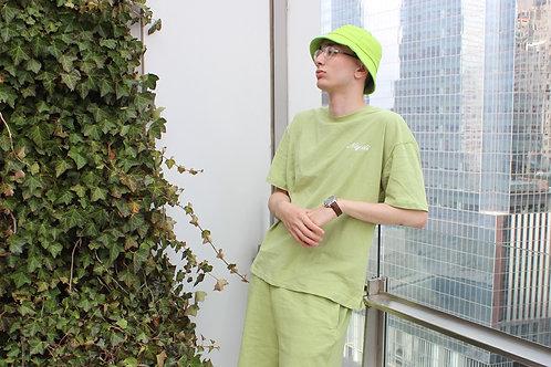 Najdi Script Tee (Green)