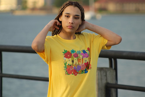 Najdi Bouquet T-Shirt (Yellow)