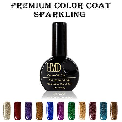(Color # 101-111) HMD Premium Gel Nail Polish Sparkling Color Coat
