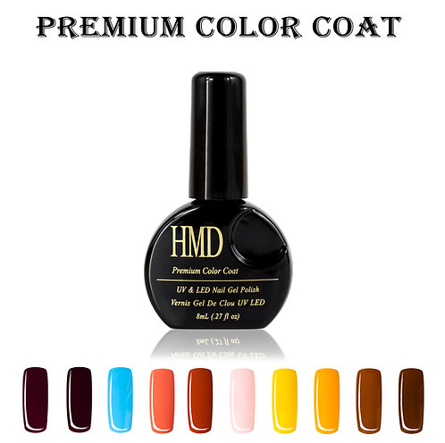 (Color # 21-30) HMD Premium Gel Nail Polish Color Coat