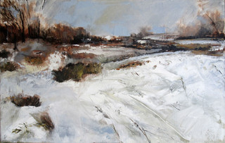 River and Snow