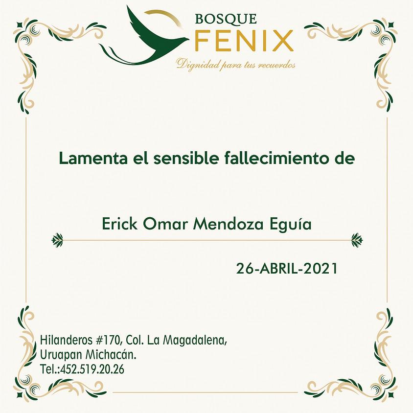 Erick Omar Mendoza Eguía