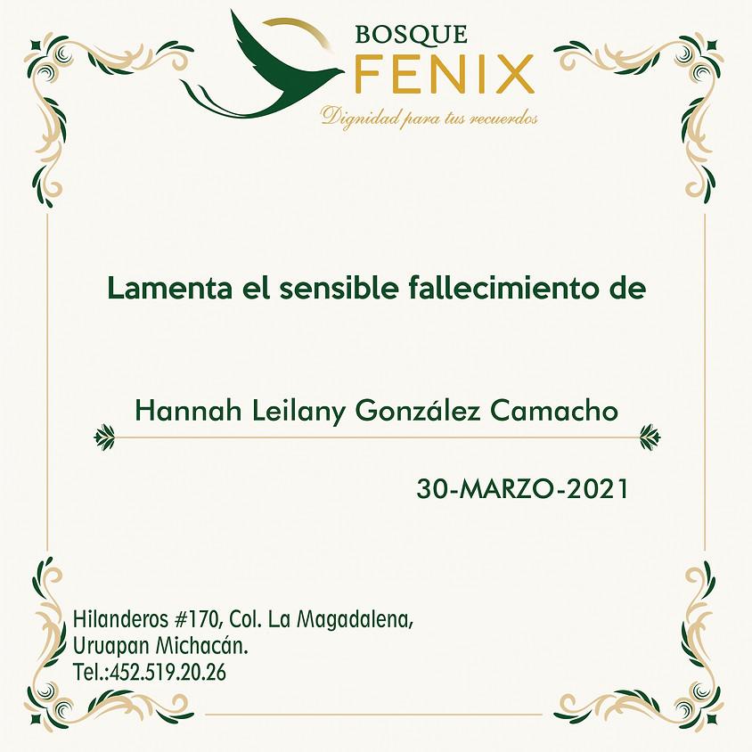 Hannah Leilany González Camacho